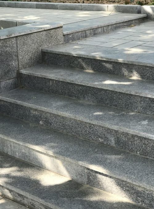 سنگ پله گرانیت مروارید